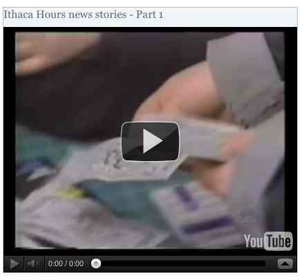 Image to go with video of: Ithaca Hours news stories - Part 1