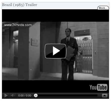 Image to go with video of: Brazil (1985) Trailer