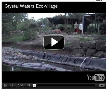 Image to go with video of: Crystal Waters Eco-village